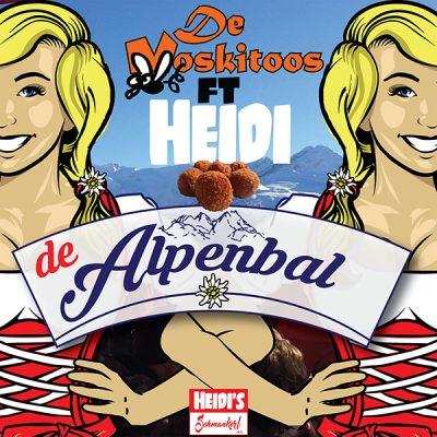 De Moskitoos ft. Heidi - De Alpenbal (Front)