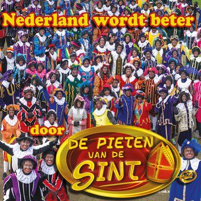 De Pieten van de Sint - Nederland wordt beter (Front)