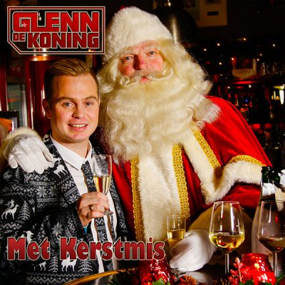 Glenn de Koning - Met Kerstmis (Front)