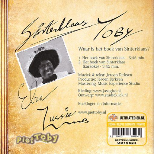 Piet Toby - Waar is het boek van Sinterklaas (Back)