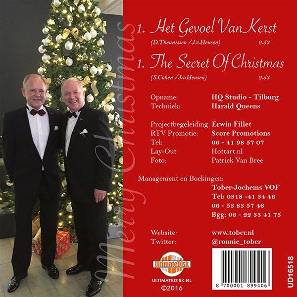 Ronnie Tober - Het gevoel van Kerst (Back)