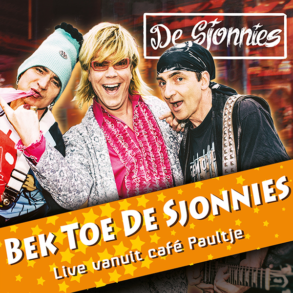 De Sjonnies - Bek Toe De Sjonnies (Front)
