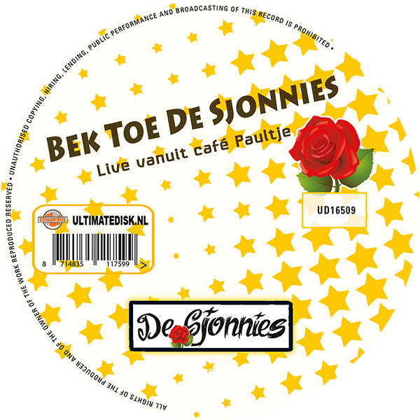 De Sjonnies - Bek Toe De Sjonnies (Label)