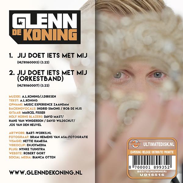 Glenn de Koning - Jij doet iets met mij (Back)