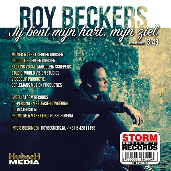 Roy Beckers - Jij bent mijn hart, mijn ziel (Back)