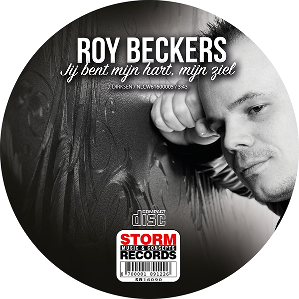Roy-Beckers - Jij-bent-mijn-hart, mijn-ziel (Label)