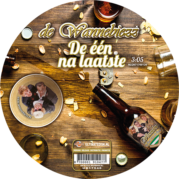 de Wannebiezz - De één na laatste (Label)