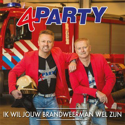 4Party - Ik wil jouw brandweerman wel zijn (Front)