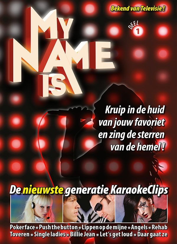 My Name Is - Karaoke DVD