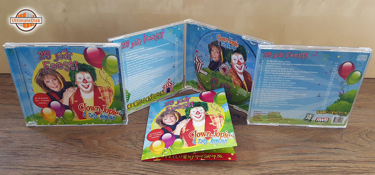 4p albums, 4-4 - Clown Jopie