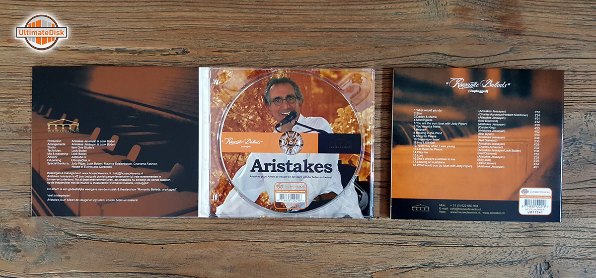 4p digipack - Aristakes