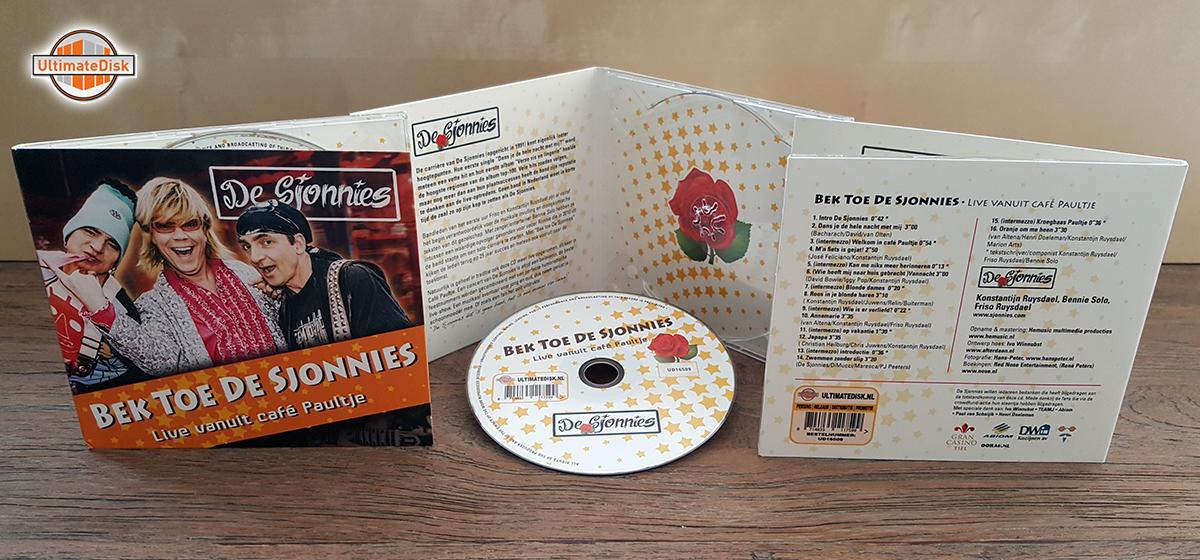 4p digipack - Sjonnies
