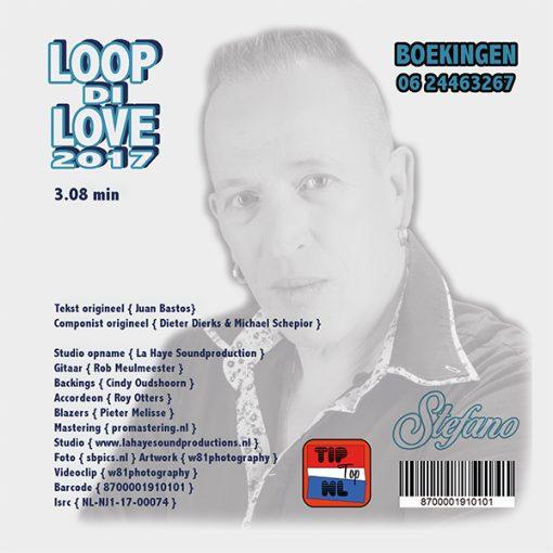 Stefano - Loop Di Love 2017 (Back)