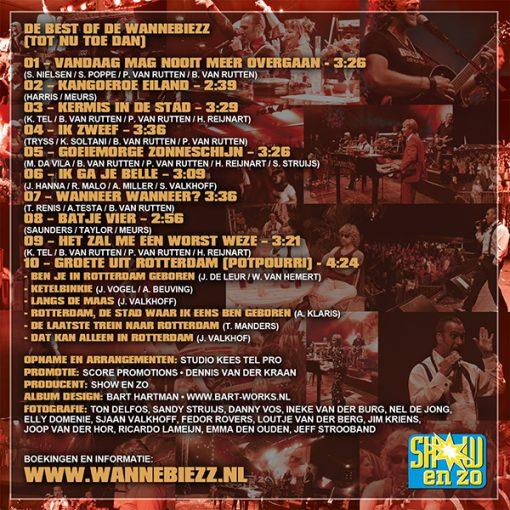 Wannebiezz - De best of (tot nu dan) (Back)