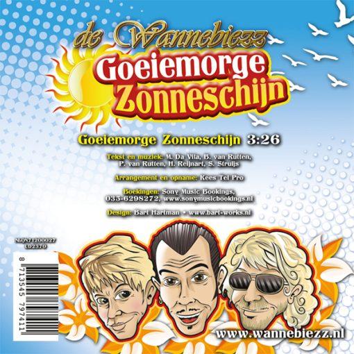 Wannebiezz - Goeiemorge Zonneschijn (Back)