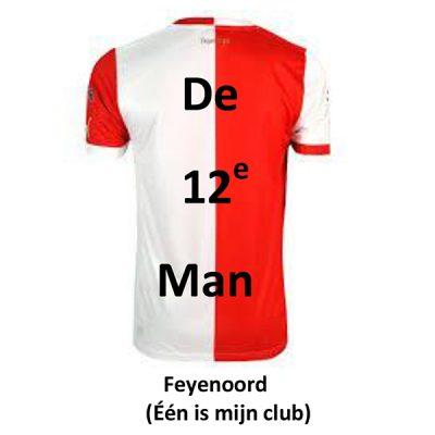 De 12e man - Feyenoord (Eén is mijn club)(Front)