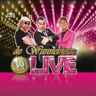 De Wannebiezz - 10 Jaar Live (Front)