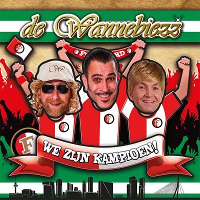de Wannebiezz - We zijn kampioen! (Front)