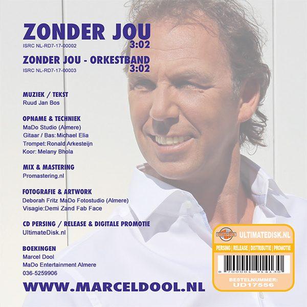 Marcel Dool - Zonder jou (Back)
