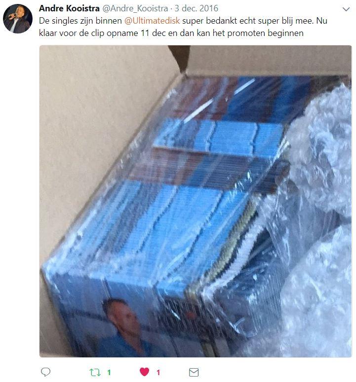 André Kooistra Tweet (03-12-2016)