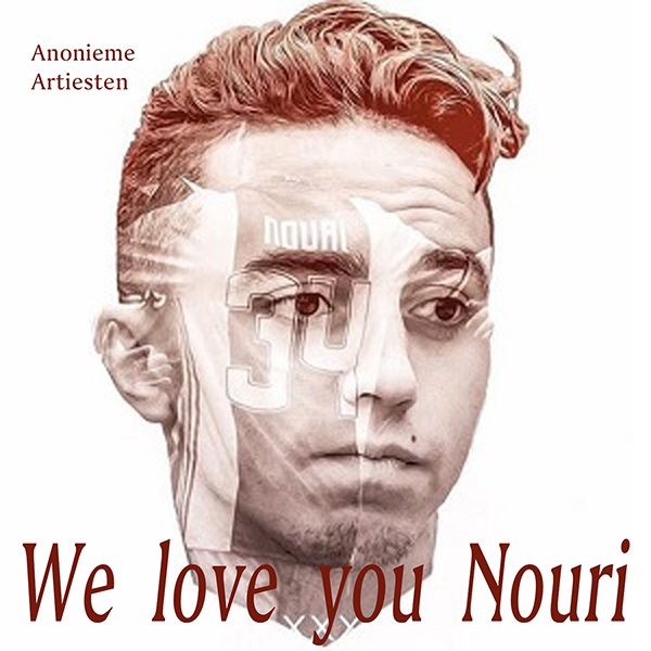 Anonieme Artiesten - We love you Nouri (Front)