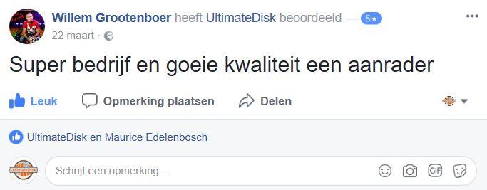 Demy de Groot Facebookbericht