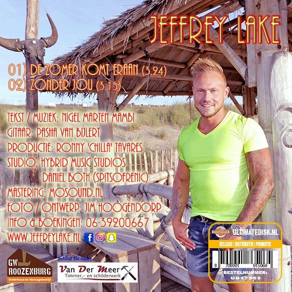 Jeffrey Lake - De zomer komt eraan (Back)