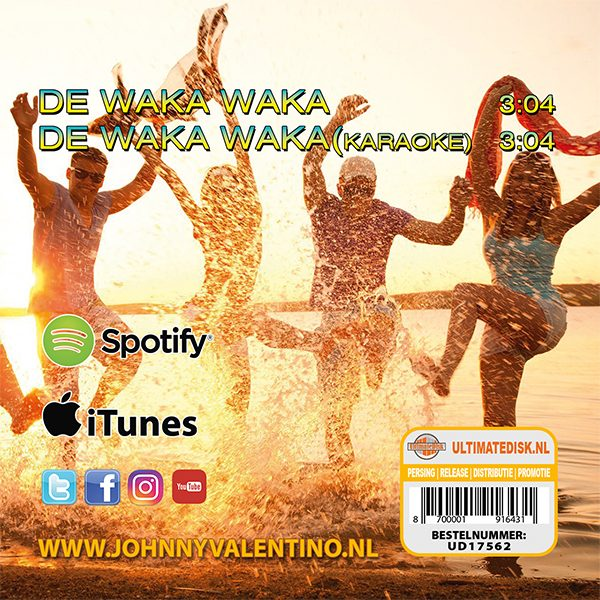 Johnny Valentino - De Waka Waka (Back)