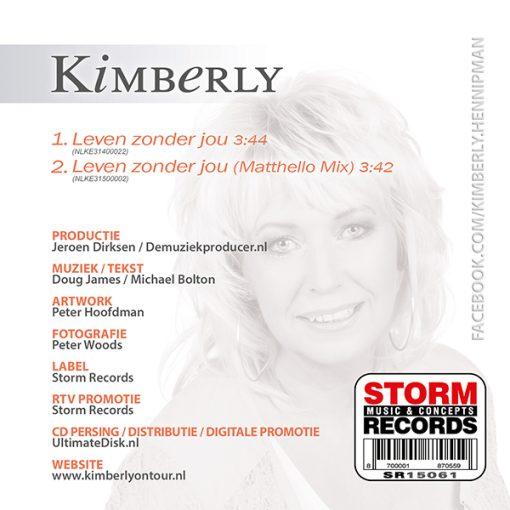 Kimberly - Leven zonder jou (Back)