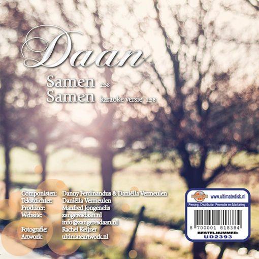 Dani Vermeulen - Samen (Back)