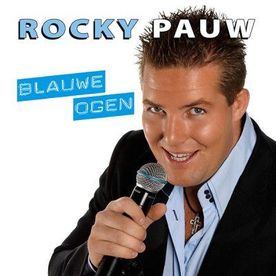 Rocky Pauw - Blauwe ogen (Front)