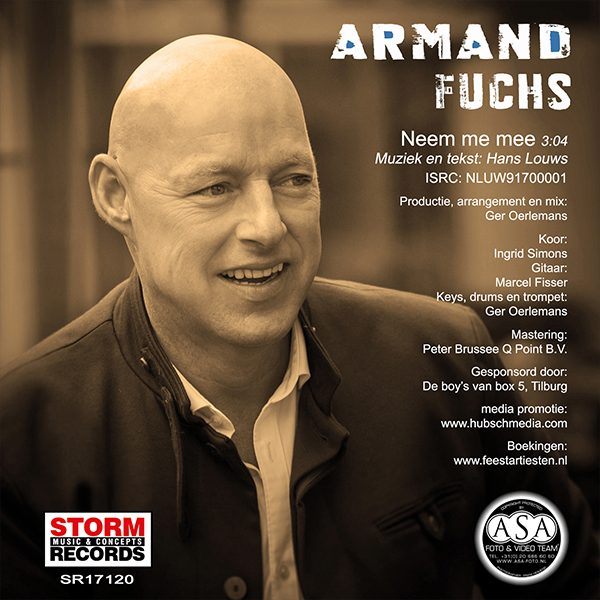 Armand Fuchs - Neem me mee (Back)