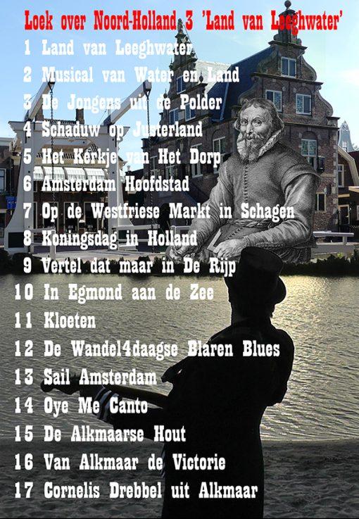 Loeksband - Land van Leeghwater (Tracklist)