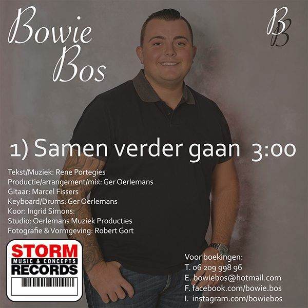 Bowie Bos - Samen verder gaan (Back)