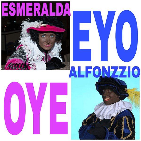 Esmeralda en Alfonzzio - EYO OYE (Front)