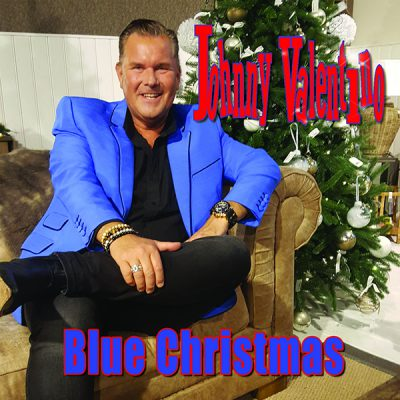 Johnny Valentino - Blue Christmas (Front)