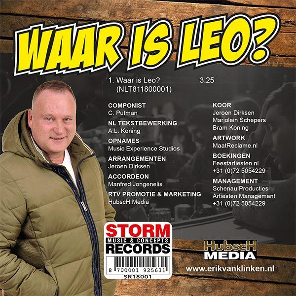 Erik van Klinken - Waar is Leo (Back)