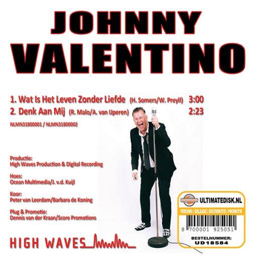 Johnny Valentino - Wat is het leven zonder liefde (Back)