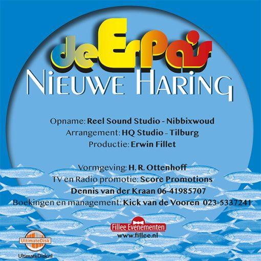 De Erpa's - Nieuwe Haring (Back)