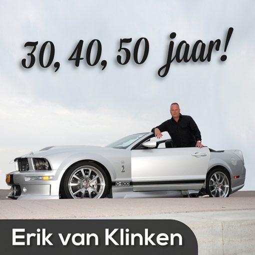 Erik van Klinken - 30, 40, 50 jaar (Front)