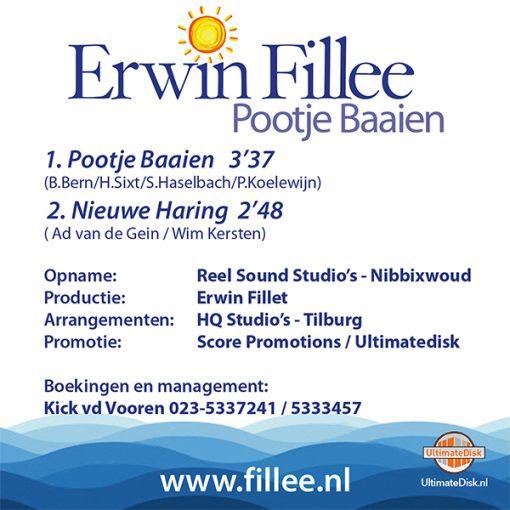Erwin Fillee - Pootje Baaien (Back)