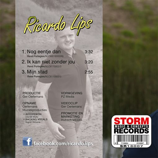 Ricardo Lips - Nog eentje dan (Back))