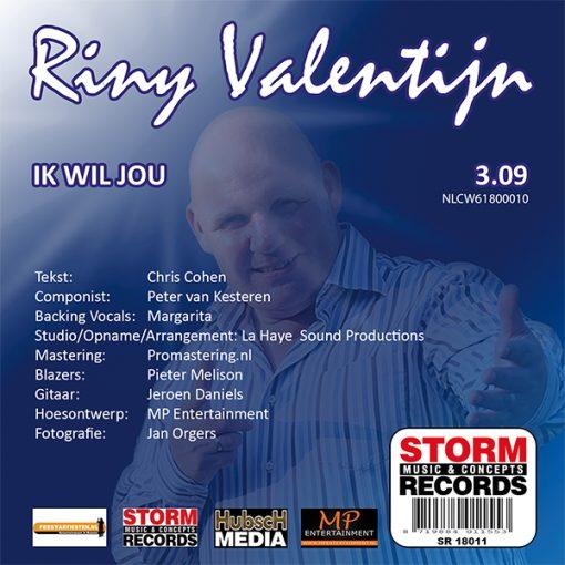 Riny Valentijn - Ik wil jou (Back)
