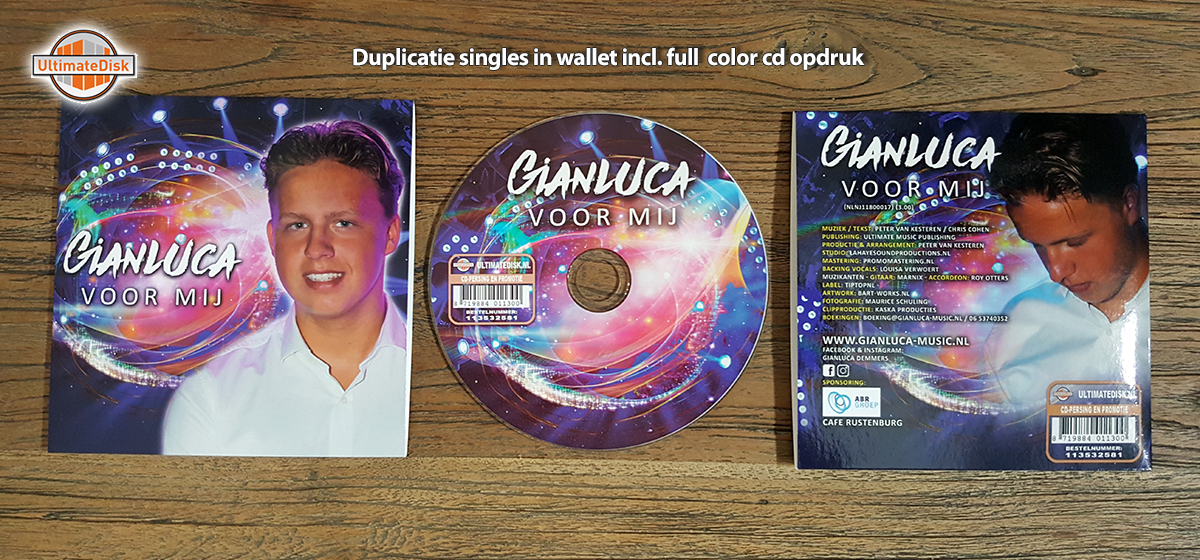 Singles - Gianluca - Voor jou