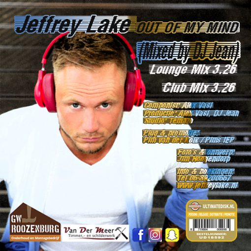 Jeffrey Lake - Out of my mind (Front)