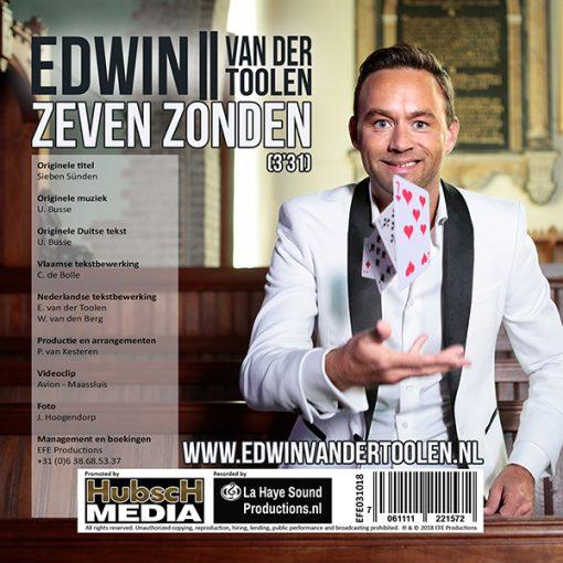 Edwin van der Toolen - Zeven zonden (Back)