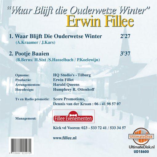Erwin Fillee - Waar blijft die ouderwetse winter (Back)