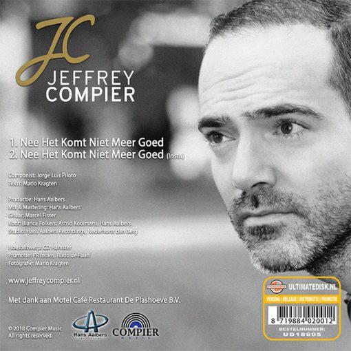 Jeffrey Compier - Nee het komt niet meer goed (Back)