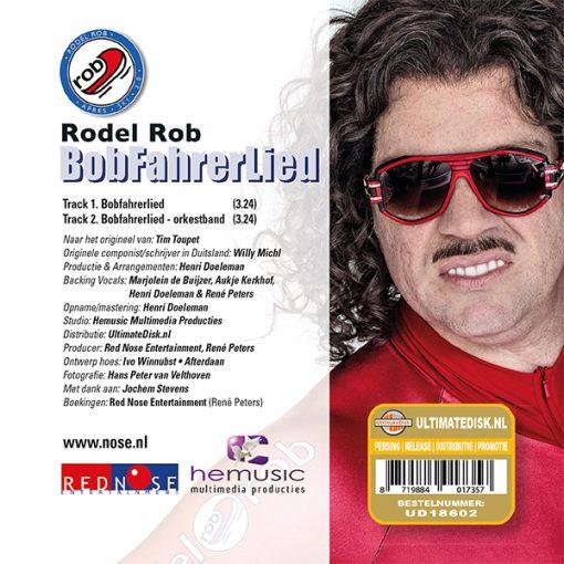 Rodel Rob - Bob Fahrerlied (Back)