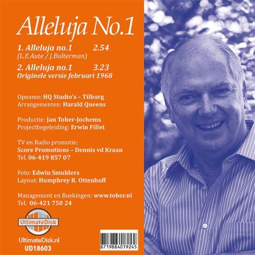 Ronnie Tober - Alleluja no 1 (Back)